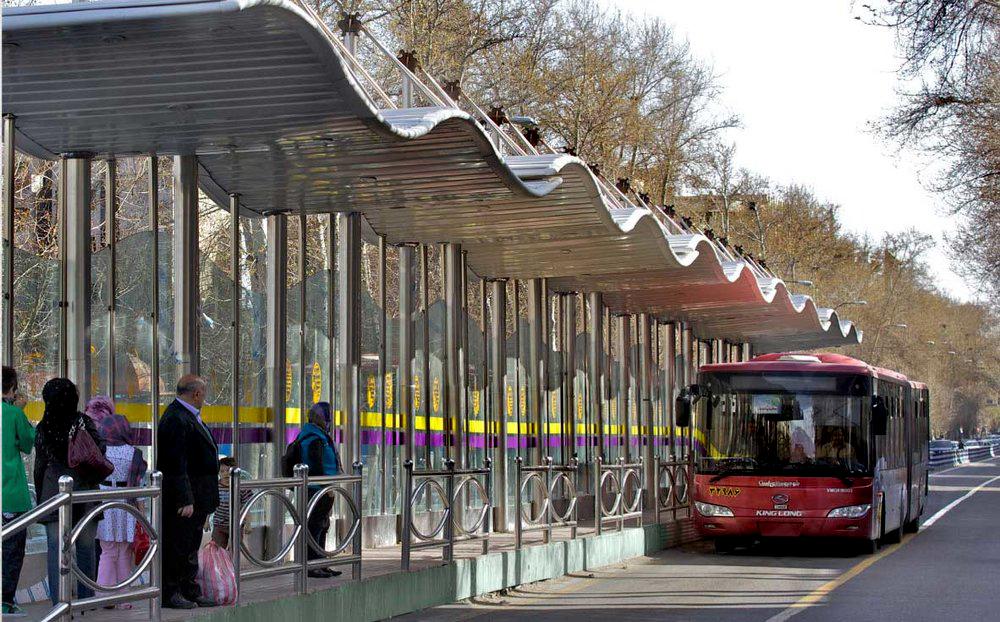bus rapid transit network in Iran