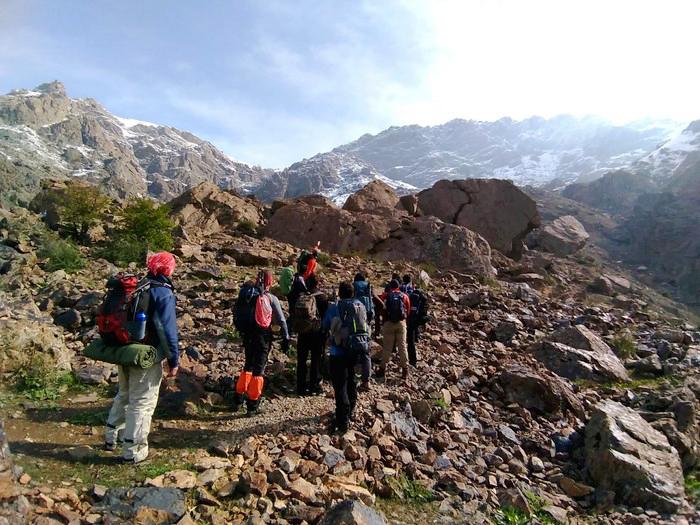 Darband Hiking Track